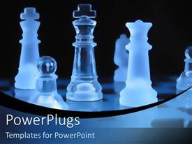Royalty free PowerPlugs: PowerPoint template - chess