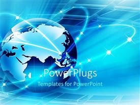 5000 internet powerpoint templates w internet themed backgrounds ppt theme enhanced with a globe with shining digital background toneelgroepblik Gallery