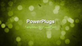 Colorful PPT theme having a greenish background with a sentence - widescreen format