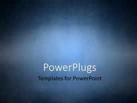 Elegant slide set enhanced with grunge texture background in blue