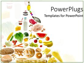 Amazing slides consisting of healthy eatables