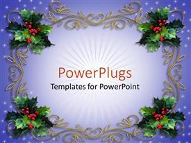 Theme having holiday decorations mistletoe design christmas tree decor