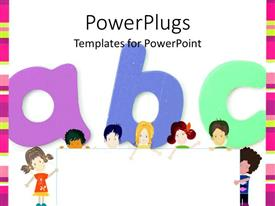 PPT theme with kids Education