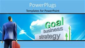 Royalty free PowerPlugs: PowerPoint template - Goal_Concept_co_40