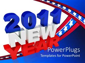Italian powerpoint templates ppt themes with italian backgrounds theme consisting of large 2011 new year test on a blue and white background template size toneelgroepblik Choice Image