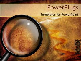 5000 ancient egypt powerpoint templates w ancient egypt themed elegant ppt theme enhanced with a magnifying glass and a lot of sand toneelgroepblik