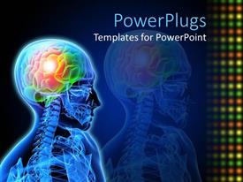 5000 neuron powerpoint templates w neuron themed backgrounds amazing ppt theme consisting of medical design neuron brain damage x ray description of brain issue toneelgroepblik Images