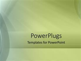 PPT theme having plain abstract olive green and gray background