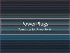 PPT layouts with a plain clear blue and black colored display tile