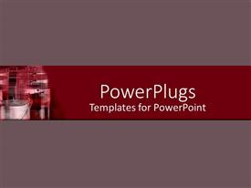 5000 manufacturing powerpoint templates w manufacturing themed slide deck enhanced with a plain off whine colored surface with an industrial site in the toneelgroepblik Images