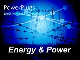 5000 electrical engineer powerpoint templates w electrical slide deck having power line carriers with small circles showing connection points template size toneelgroepblik Choice Image