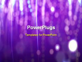 Beautiful slides with a purple background with a number of fireworks