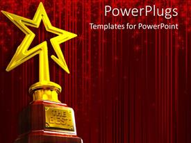 5000 award powerpoint templates w award themed backgrounds elegant theme enhanced with red glowing curtain background with gold star award for template size toneelgroepblik Choice Image