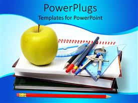4000 elementary education math powerpoint templates w elementary audience pleasing presentation featuring school theme with notebooks math tools pencils pens toneelgroepblik Gallery