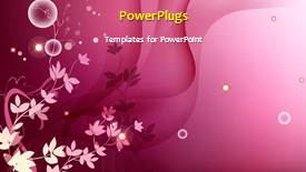 Elegant PPT theme enhanced with a short video showing different tiles of beautiful babies - widescreen format