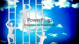 Royalty free PowerPlugs: PowerPoint template - StairToSuccess_co_39