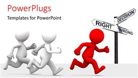 Royalty free PowerPlugs: PowerPoint template - LeaderInFront_co_39