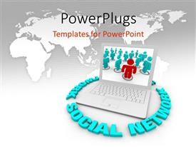 Wireless Network PowerPoint Templates w/ Wireless Network