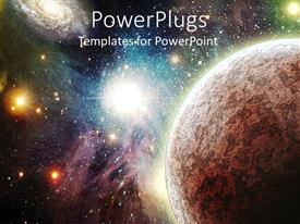 Royalty free PowerPlugs: PowerPoint template - Planet_am_23