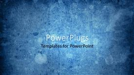Theme enhanced with vintage looking grunge texture blue background, solid colored blue background