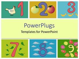 Kindergarten powerpoint templates ppt themes with kindergarten elegant slide deck enhanced with whimsical numbers counting kindergarten elementary education template size toneelgroepblik Gallery
