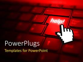 5000 online help powerpoint templates w online help themed backgrounds