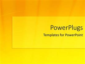 PPT layouts consisting of yellow and orange shades in background