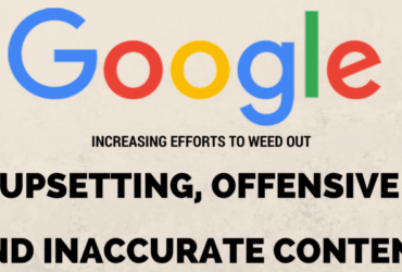 Google weed out offensive content - PowerPost