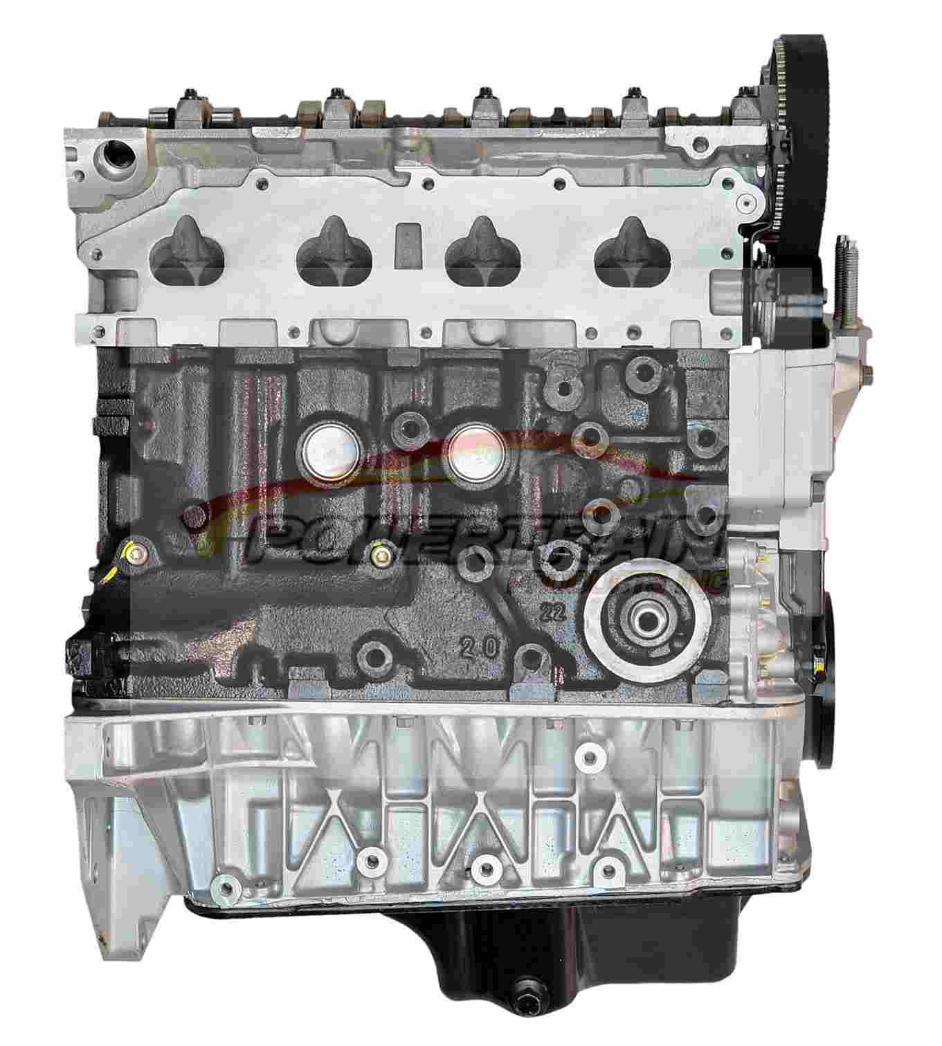 Ford 2 0 engine L4 01-04 Zetec engine