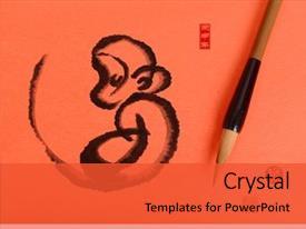 Lunar New Year Powerpoint Templates W Lunar New Year Themed