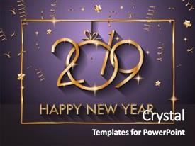 theme consisting of 2019 happy new year background for your seasonal flyers and greetings card or