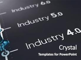5000 paper industry powerpoint templates w paper industry themed slides with 3d illustration of black paper with the text industry 4 0 5 0 and toneelgroepblik Choice Image