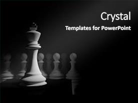 Slide deck consisting of pawns - 3d rendering illustration of chess background and a black colored foreground.