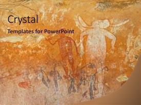 200 australia aboriginal art powerpoint templates w australia slides consisting of aboriginal rock art western australia background and a yellow colored foreground toneelgroepblik Image collections