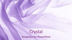 Cool new theme with abstract - soft purple chiffon with curve backdrop and a sky blue colored foreground