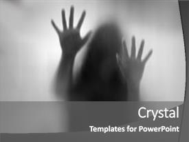 5000 horror powerpoint templates w horror themed backgrounds colorful ppt layouts enhanced with abstract horror woman behind backdrop and a gray colored foreground toneelgroepblik Images