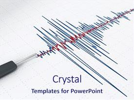200 seismic waves powerpoint templates w seismic waves themed beautiful theme featuring activity graph showing an earthquake backdrop and a sky blue colored foreground toneelgroepblik Gallery