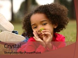 5000 african american culture powerpoint templates w african presentation theme consisting of african american baby child playing in a local background and a toneelgroepblik Gallery