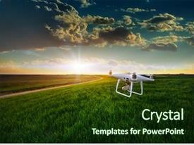 Agriculture Drone Powerpoint Templates W Agriculture Drone