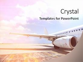 2000 airbus powerpoint templates w airbus themed backgrounds presentation theme consisting of aircraft on airport koh background and a sky blue toneelgroepblik Choice Image