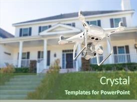 1000+ Quadcopter PowerPoint Templates w/ Quadcopter-Themed