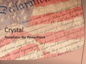 1000 american revolution powerpoint templates w american ppt layouts with american revolution close up of declaration background and a coral colored foreground toneelgroepblik Images