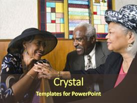 200 african american church powerpoint templates w african audience pleasing ppt theme consisting of american senior talking in church backdrop and a tawny brown toneelgroepblik Gallery