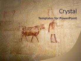 5000 ancient egyptian powerpoint templates w ancient egyptian beautiful ppt theme featuring ancient hieroglyphic carving of egyptian and cerimonial cow in color in a toneelgroepblik Choice Image