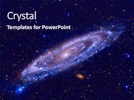 5000 galaxy powerpoint templates w galaxy themed backgrounds amazing theme having nasa andromeda galaxy messier 31 backdrop and a navy blue colored foreground toneelgroepblik Image collections