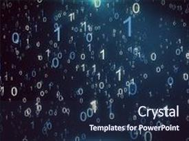 100 rain animated powerpoint templates w rain animated themed cool new presentation design with animated background featuring a particle rain of binary numbers falling simulating toneelgroepblik Images