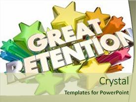 10 employee recognition stars powerpoint templates w employee cool new presentation theme with animated great retention customers employees backdrop and a soft green toneelgroepblik