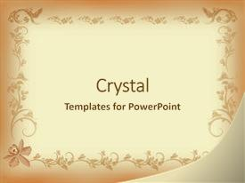 5000 Floral Vintage Powerpoint Templates W Floral Vintage Themed