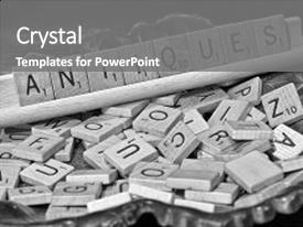 Scrabble powerpoint templates.