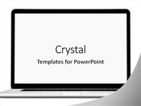 Apple mac powerpoint templates crystalgraphics slide set consisting of apple mac frontal shot of a generic background and a white toneelgroepblik